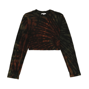 Cotton Citizen Women's Tokyo Crop Long Sleeve T-Shirt  - XHIBITION