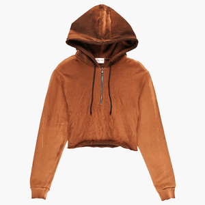 Cotton Citizen Women's Brooklyn Cropped Hoodie  - XHIBITION