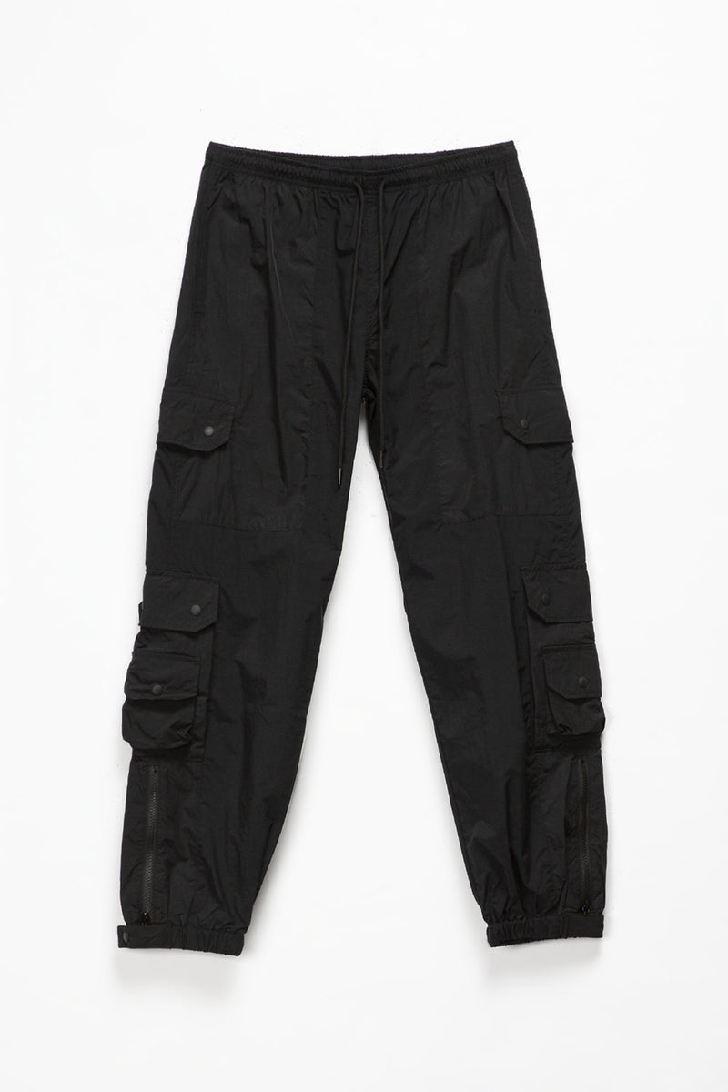 John Elliott Paneled Nylon Cargo Pants  - XHIBITION
