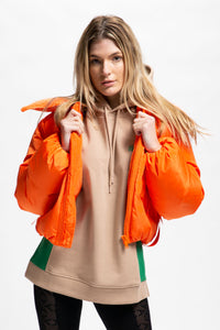 GANNI Women's Tech Down Jacket  - XHIBITION