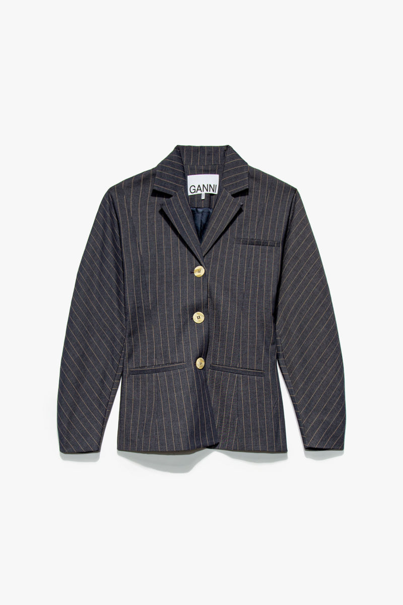 Women's Stretch Stripe Blazer