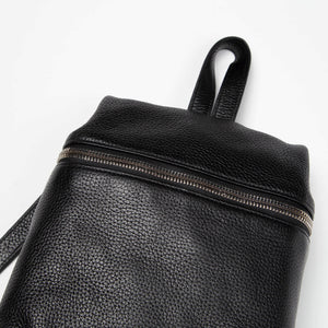 KARA Women's Pebble Leather Small Backpack  - XHIBITION