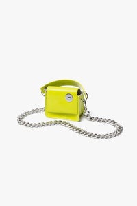 Kara Micro Pinch Chain Bag  - XHIBITION