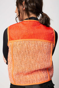 Heron Preston Women's Utility Tweed Vest  - XHIBITION