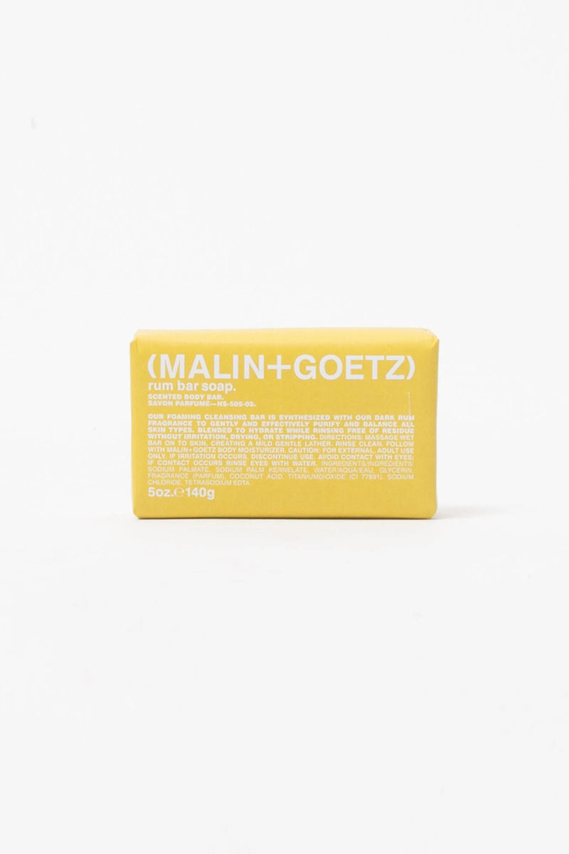 Malin+Goetz Rum Bar Soap  - XHIBITION