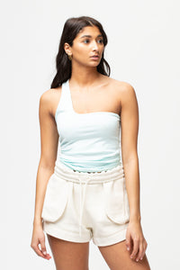 Helmut Lang Women's Seamless Jersey Cut-Out Tank  - XHIBITION