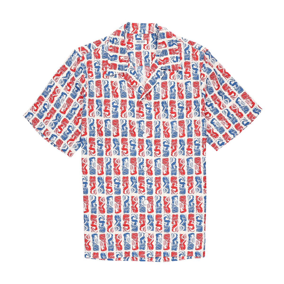 Kenzo All Over Print Casual Shirt  - XHIBITION