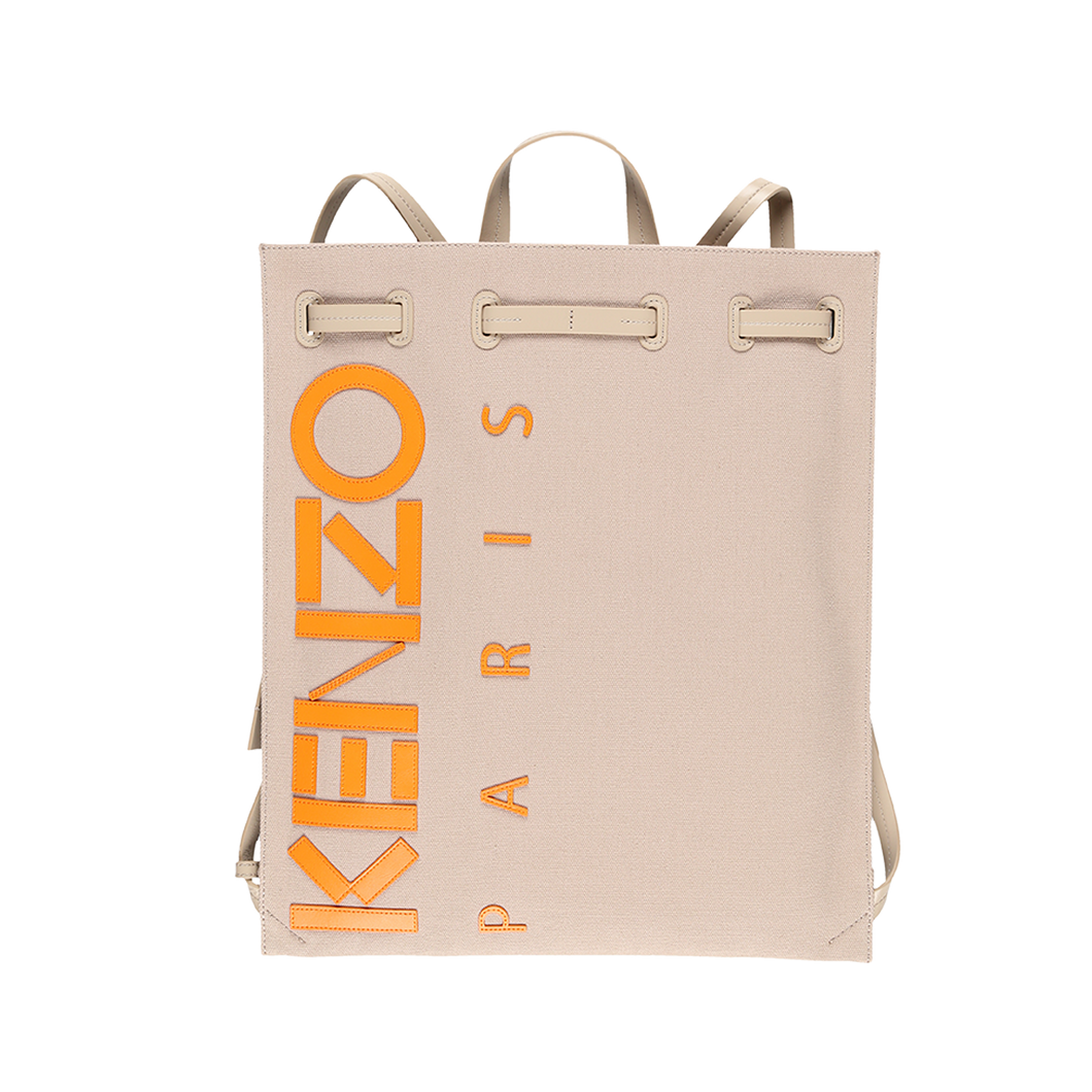 Kenzo Contrast Canvas Drawstring Backpack  - XHIBITION