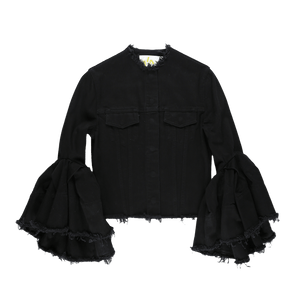 Marques' Almeida Women's Classic Fitted Bell Sleeve Jacket  - XHIBITION