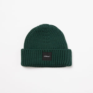 Off-White Rib Beanie  - XHIBITION