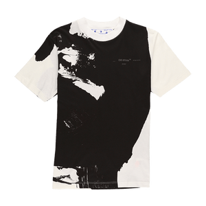 Off-White Women's Brushstrokes Casual T-Shirt  - XHIBITION