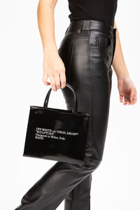 Off-White Women's Leather Mini Box Bag  - XHIBITION