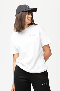 Off-White Women's Flowers Arrow Regular T-Shirt  - XHIBITION