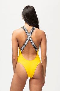 Off-White Women's Logo Swimsuit  - XHIBITION
