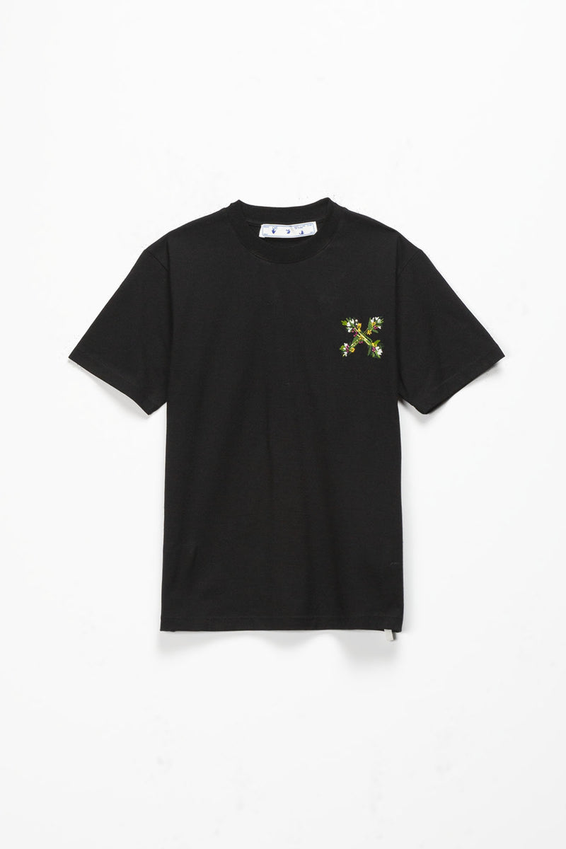 Off-White Women's Embroidered Mini Arrow T-Shirt  - XHIBITION