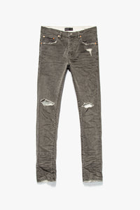 Purple Brand Grey Coated White Jeans  - XHIBITION