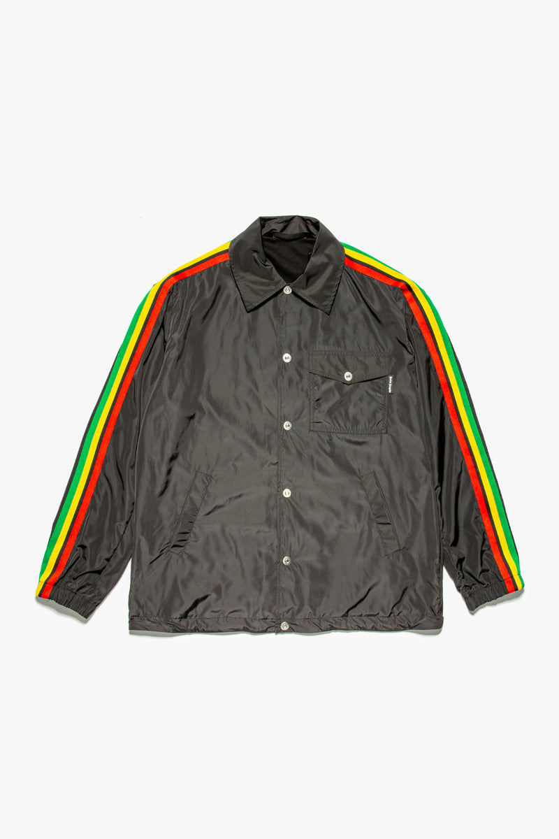 Palm Angels Miami Logo Coach Jacket  - XHIBITION