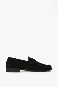 Rhude Suede Penny Loafers  - XHIBITION