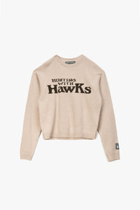 Reese Cooper Hunting With Hawks Wool Knit Sweater  - XHIBITION