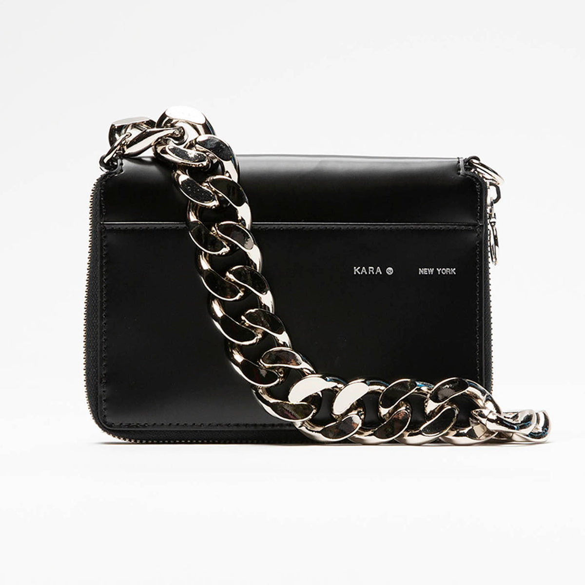 KARA Polished Calf Large Bike Wallet  - XHIBITION