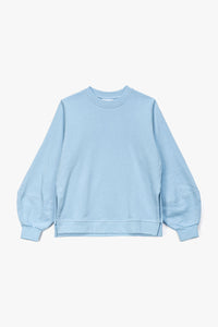 GANNI Women's Puff Sleeve Software Sweatshirt  - XHIBITION