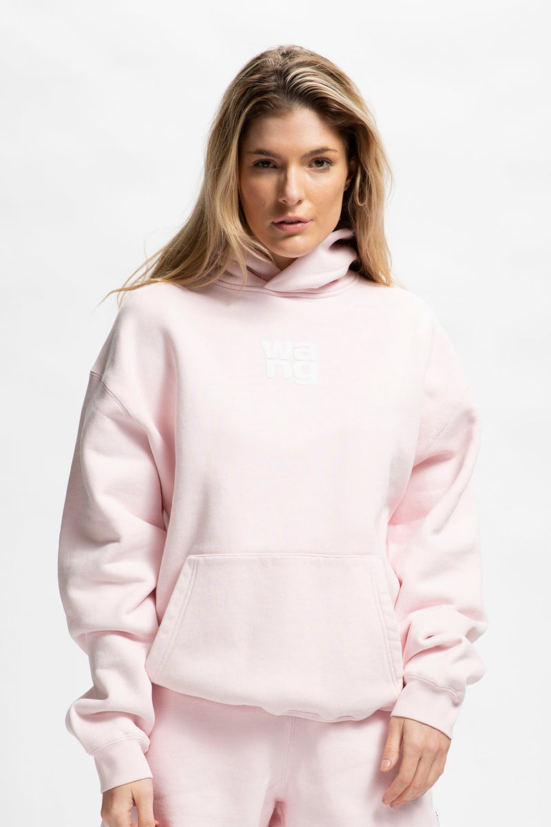 Alexander Wang Women's Garment Washed Hoodie  - XHIBITION