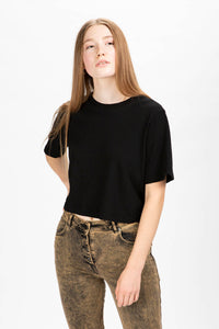 Cotton Citizen Women's Tokyo Crop T-Shirt  - XHIBITION