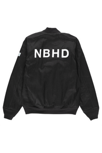 Neighborhood Tankers Embroidered Denim Bomber  - XHIBITION
