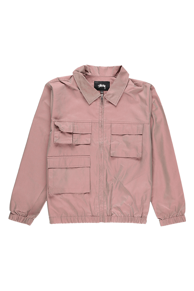 Stüssy Women's Iridescent Multi Pocket Jacket  - XHIBITION