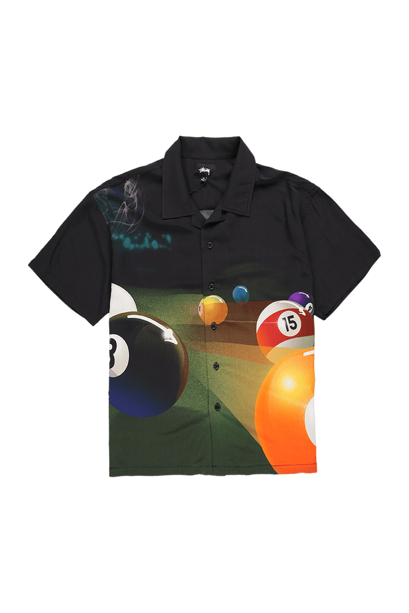 Stüssy Pool Hall Shirt  - XHIBITION