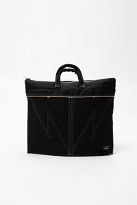 Neighborhood Porter x Indigo Dyed Denim Tote Bag  - XHIBITION