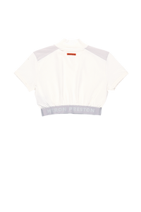 Heron Preston Women's Cropped Short Sleeve Turtleneck  - XHIBITION