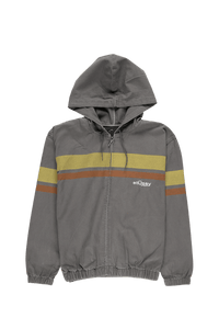 Stüssy Women's Printed Stripe Hooded Jacket  - XHIBITION
