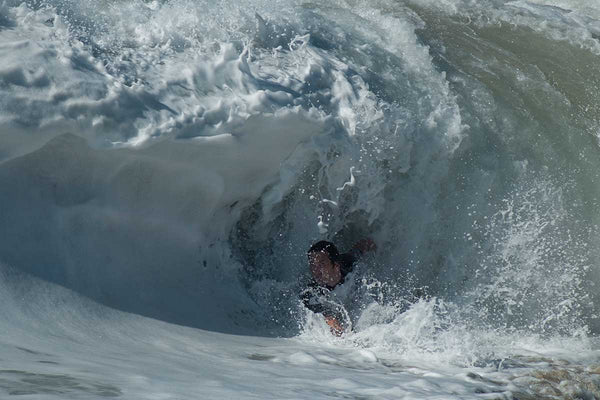 Bodysurfing in San Diego. Photography by Sole Bodysurfing