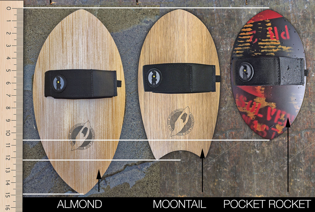 Sole Bodysurfing Handplane Comparison