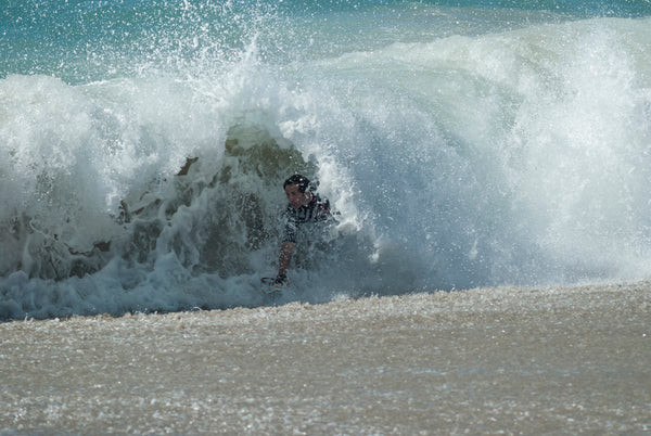 bodysurfing whomp shorebreak