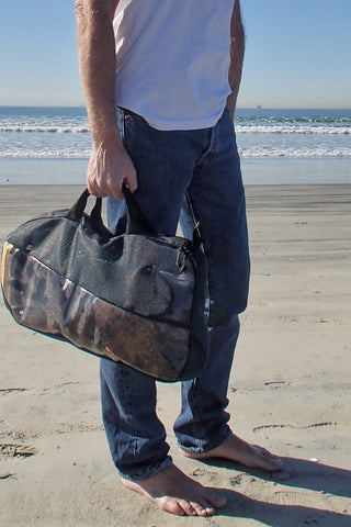 bodysurfing bag showing tote handles