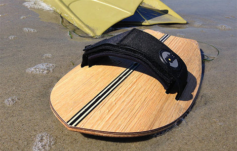 Sole Bodysurfing Handplanes - Moontail Woodie