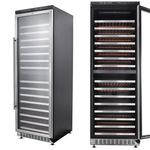 156 Bottle Dual Zone Wine Cooler HWC2403U - d-airconditioning