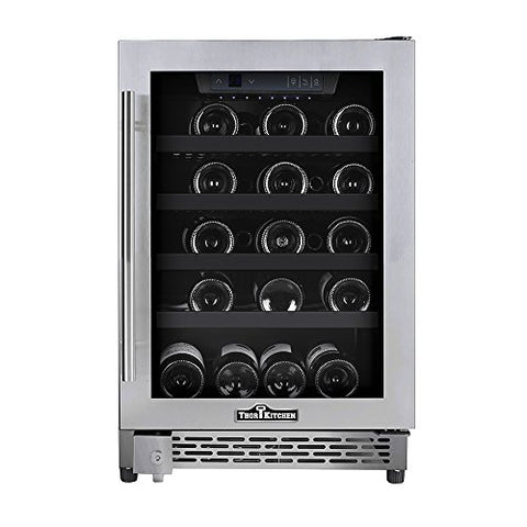 "18"" 46 Bottle Wine Cooler HWC2405U - d-airconditioning"