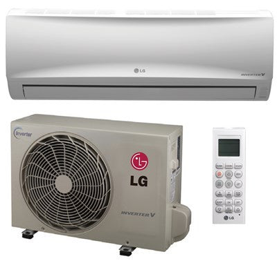 LG 12000 BTU High Efficiency Ductless Mini Split LS120HXV - d-airconditioning