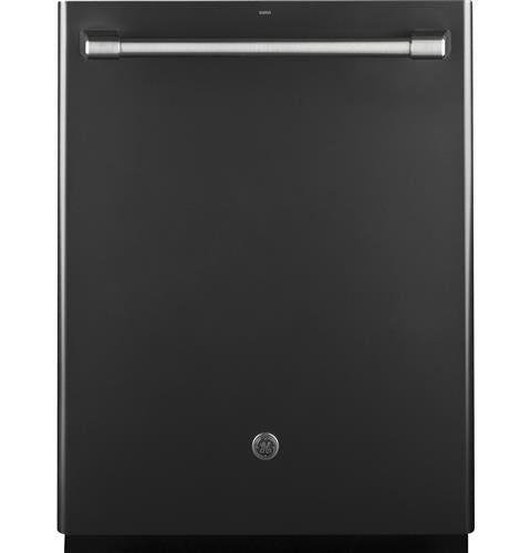 GE Café™ Series Stainless Interior Built-In Dishwasher with Hidden Controls CDT865SMJDS