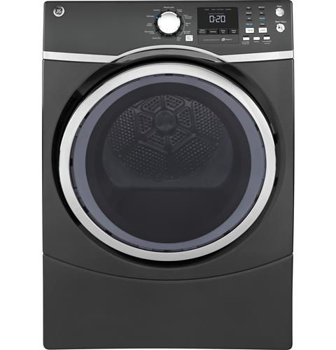 GE® 7.5 cu. ft. capacity Front Load electric dryer with steam GFD45ESPKDG