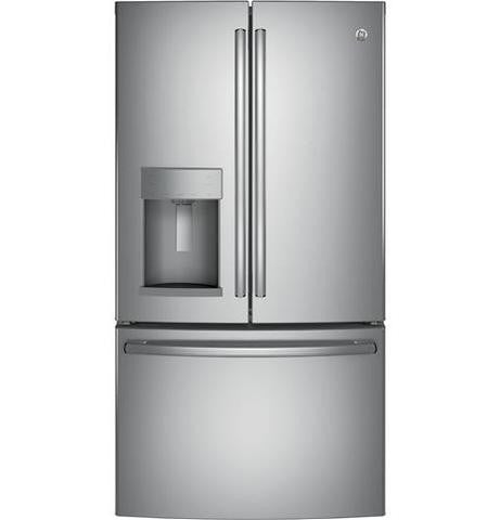 GE® ENERGY STAR® 27.8 Cu. Ft. French-Door Refrigerator - GFE28GSKSS - d-airconditioning