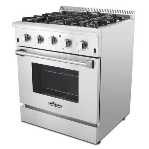 Thor HRG3026U 30″ PROFESSIONAL STAINLESS STEEL GAS RANGE - d-airconditioning