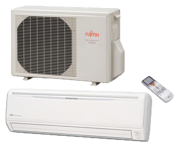 Fujitsu 18000 BTU Ductless Mini Split 18rlb - d-airconditioning
