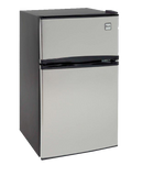 Model RA3136SST - 3.1 CF Two Door Counterhigh Refrigerator - Black w/Stainless Steel Doors - d-airconditioning
