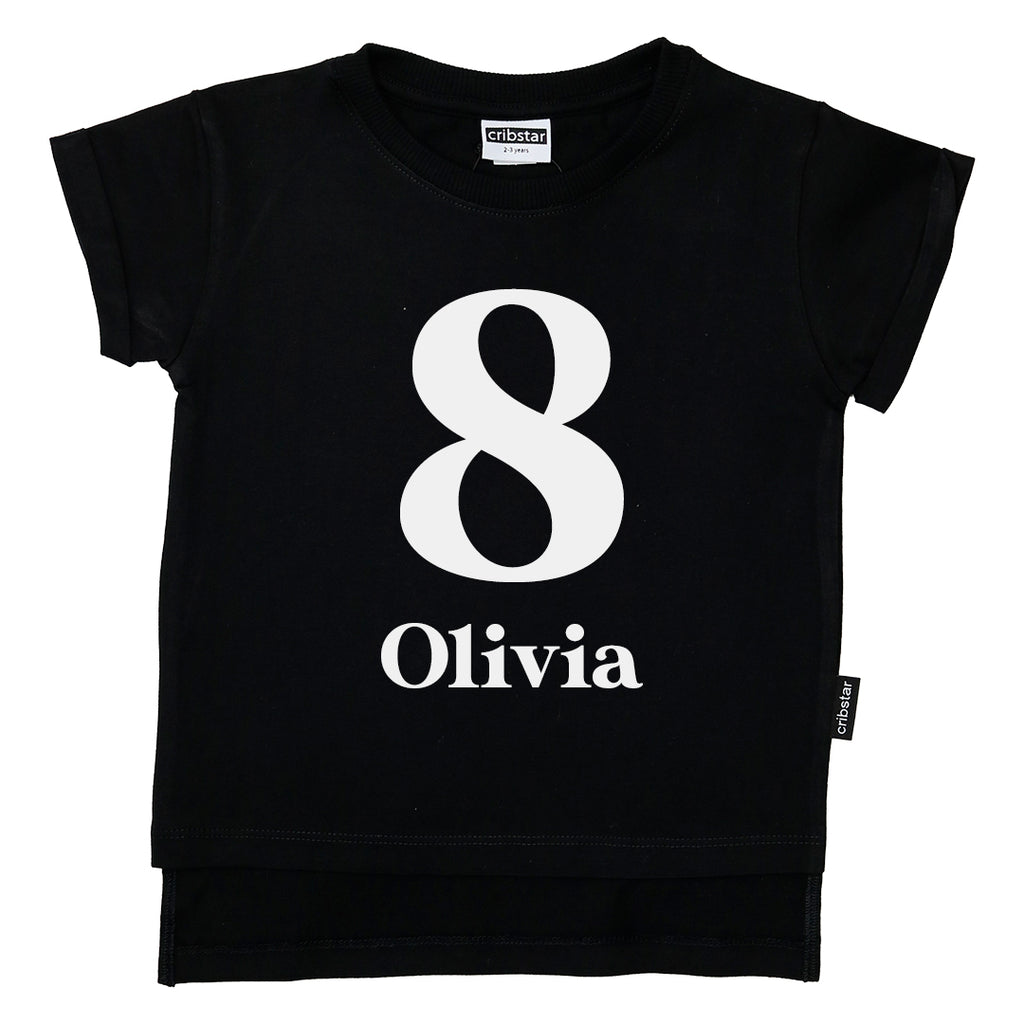 Personalised 8th Birthday T-shirt
