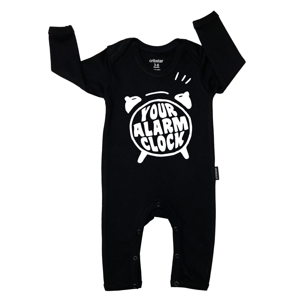 Your Alarm Clock Baby Romper