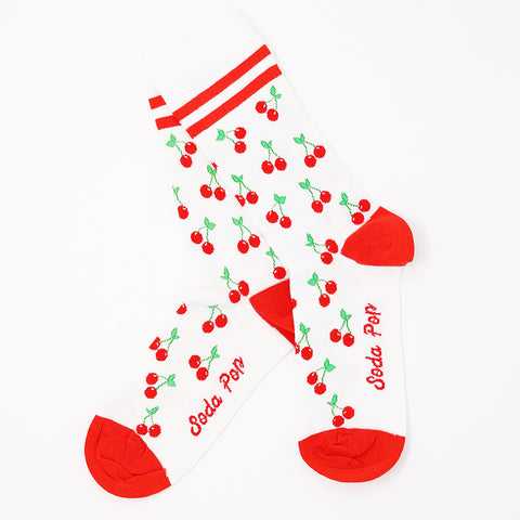 Cherry Sporty Women's Socks